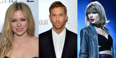 Calvin Harris Allegedly Swoops In To Defend Taylor Swift As Taylor Follows Avril Lavigne On Twitter