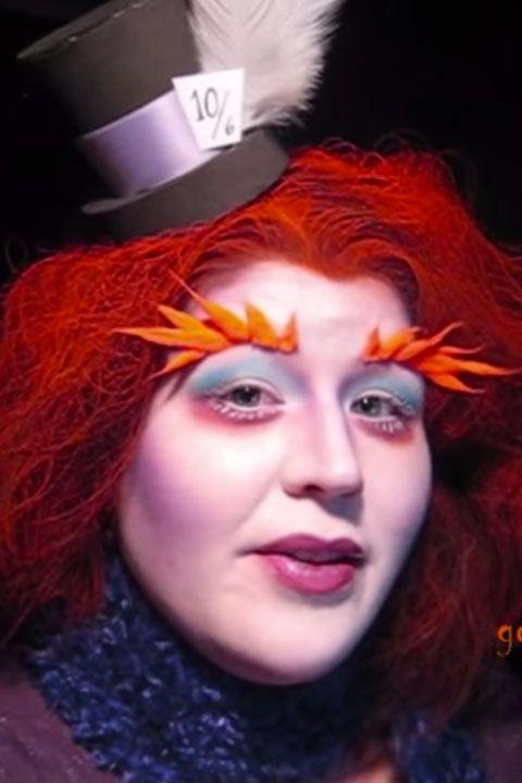 Mad Hatter Makeup Tutorial Halloween Mad Hatter Costume
