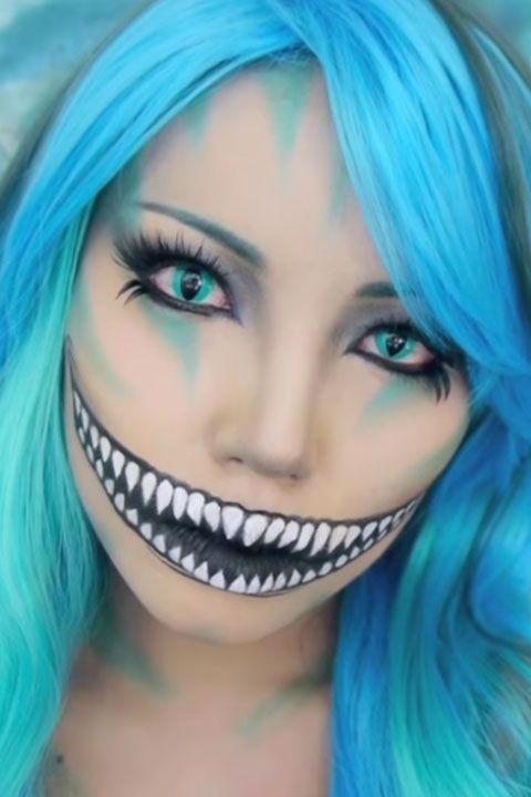 Cheshire Cat Makeup Tutorial Cheshire Cat Halloween Costume 2015 - Cat-costume-makeup