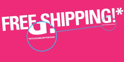 Free Shipping NOT