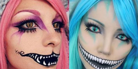 Cheshire Cat Makeup Tutorial Cheshire Cat Halloween Costume 2015