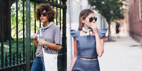 Clothing, Eyewear, Glasses, Shoulder, Textile, Outerwear, Sunglasses, Dress, Bag, Style,