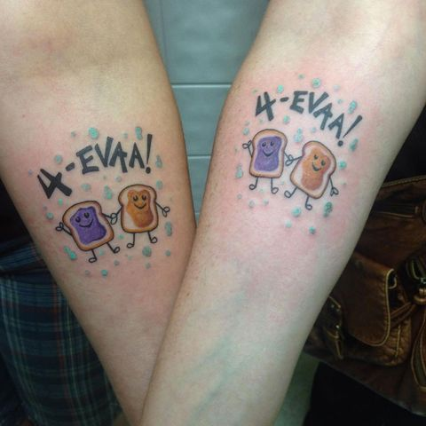 21 Adorable Bff Tattoos