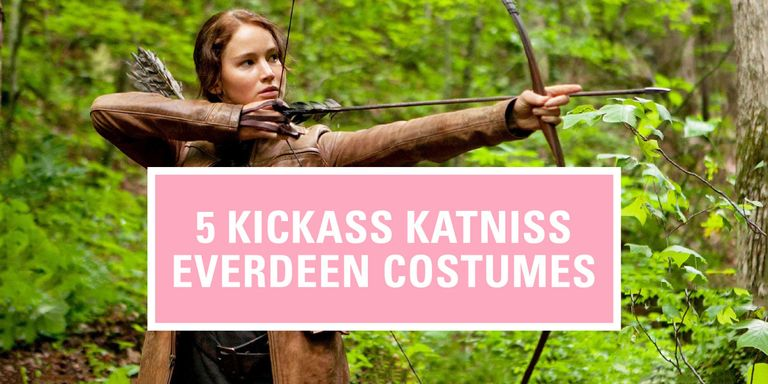 katniss everdeen costume hunger games costumes  lionsgate katja cho