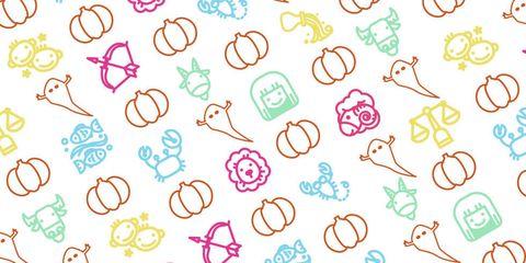 Pink, Line, Pattern, Magenta, Colorfulness, Circle, Aqua, Turquoise, Peach, Child art,