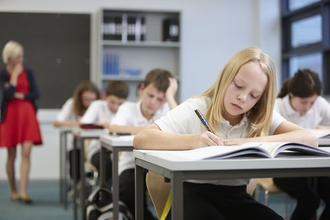 Room, Class, Education, Classroom, Student, Learning, Academic institution, Chair, School, Secondary school,