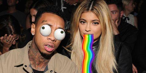 Kylie Jenner Tyga Snapchat