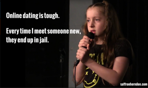 10 year old comedian online dating