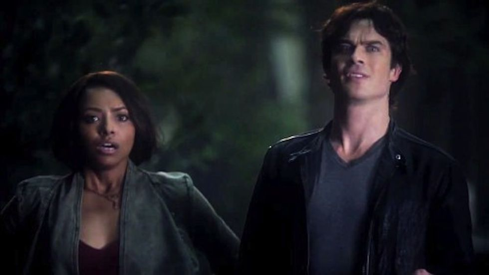 Who is elena dating in vampire diaries