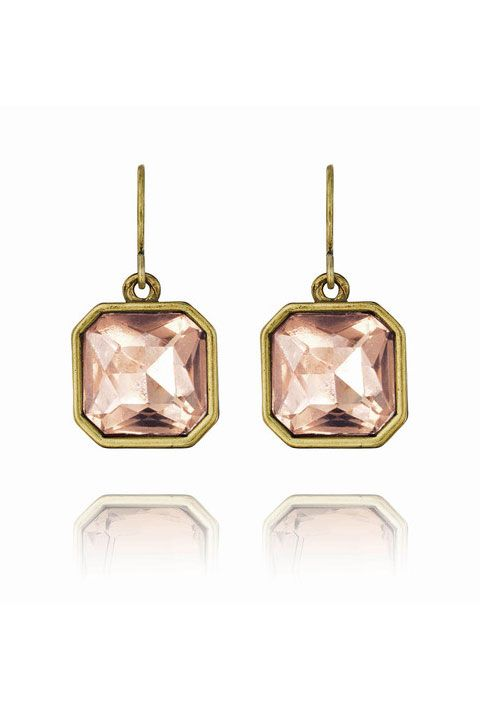 Product, Jewellery, Earrings, Pink, Fashion accessory, Amber, Metal, Body jewelry, Natural material, Beige,