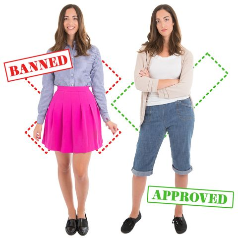 10 Banned Vs. Approved Outfits That Show How Ridiculous School Dress Codes Really Are