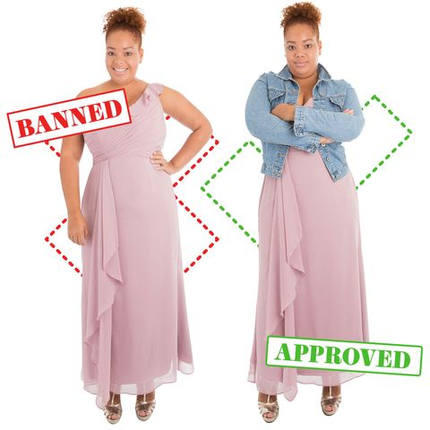 19b56b2426 10 Banned Vs. Approved Outfits That Show How Ridiculous School Dress ...