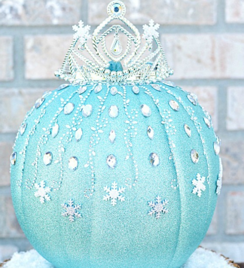 Disney Frozen Halloween Pumpkin
