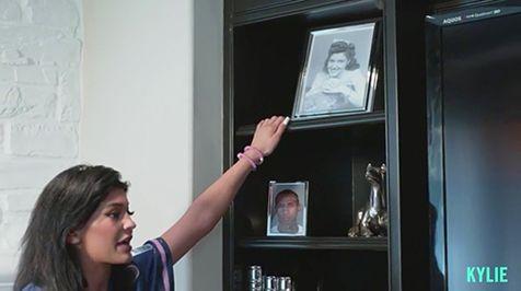 Kylie Jenner Keeps a Framed Mugshot of Tyga in Her Living Room