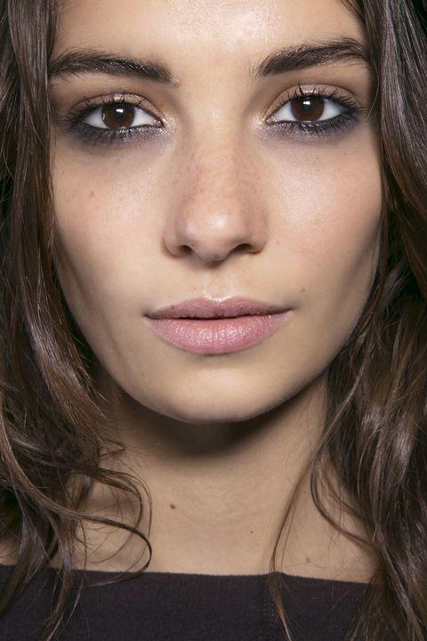 Face, Nose, Mouth, Lip, Cheek, Brown, Eye, Hairstyle, Skin, Chin,