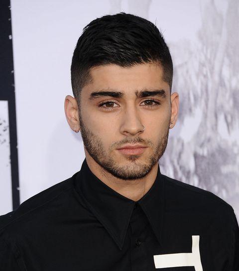 Ear, Lip, Cheek, Hairstyle, Facial hair, Forehead, Eyebrow, Collar, Jaw, Black hair,