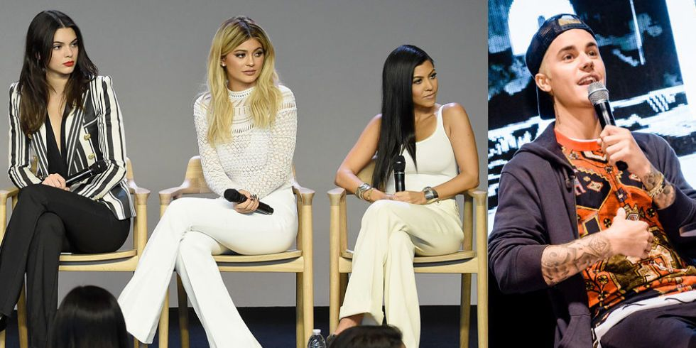 Who is justin bieber dating kendall