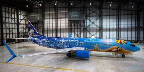 Disney Frozen plane