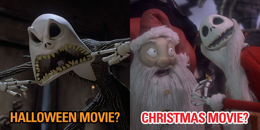 the director of the nightmare before christmas reveals which holiday its actually meant for - Halloween Christmas