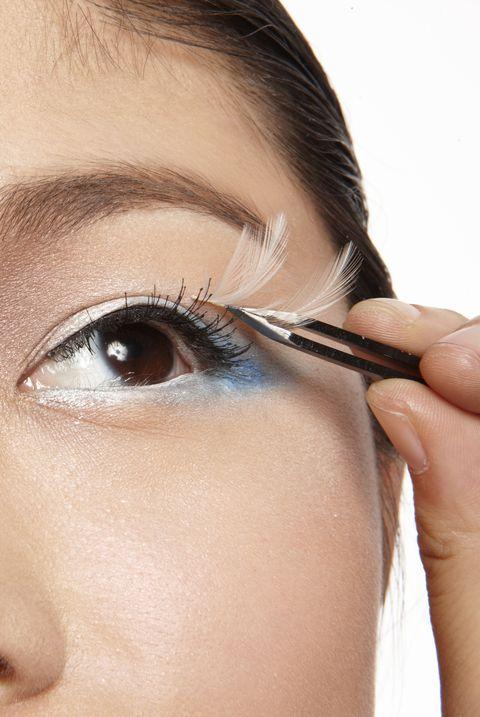 Eyebrow, Face, Eyelash, Skin, Eye, Nose, Eye shadow, Cheek, Beauty, Forehead,
