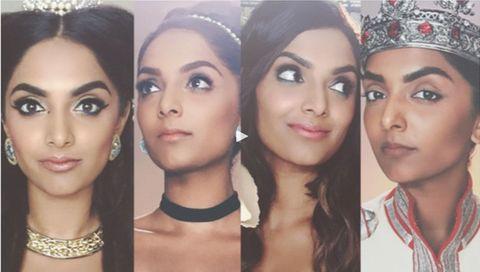 Lip, Eye, Skin, Forehead, Eyebrow, Eyelash, Style, Hair accessory, Headpiece, Beauty,