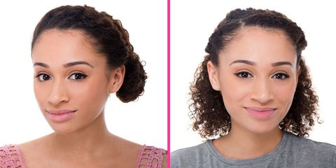 2 super chic curly hairstyles you can totally do yourself image solutioingenieria Image collections