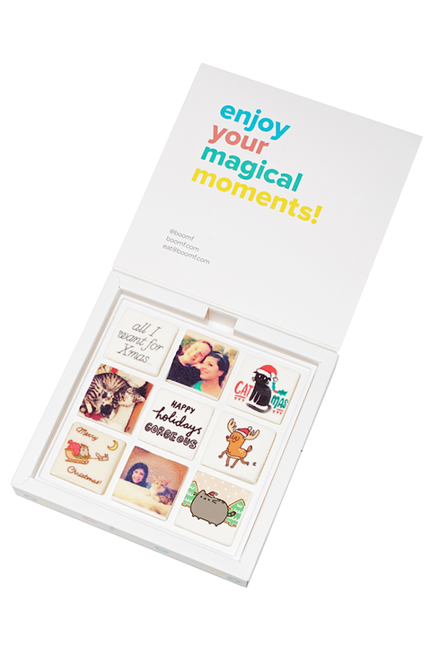<p>Bite-sized cupcakes? Overdone. Marshmallows customized with your BFF selfies? <em>Totally </em>amazing. Make them all the same or mix-and-match with cute designs for a deliciously personalized prezzie! </p>