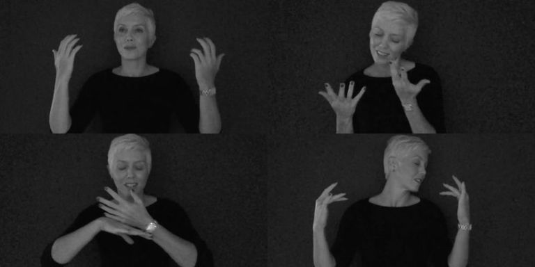 This powerful cover of adeles hello in sign language will give vimeomolly lou bartholomew adeles hello m4hsunfo