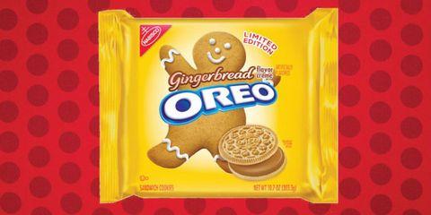 Gingerbread Oreos