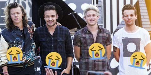 1D Crying Emojis