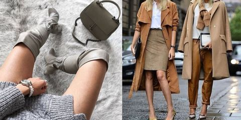 Brown, Sleeve, Collar, Joint, Khaki, Style, Fashion accessory, Bag, Fashion, Street fashion,
