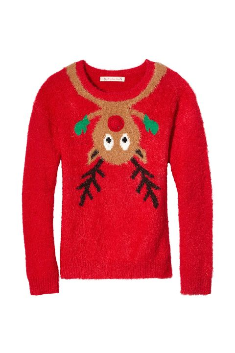 <p>Chances are she's got at least one holiday-themed soiree on her calendar, so help her dress the part. A knit like this is playful and fun — perfect for ugly sweater parties and the regular ones, too. </p>