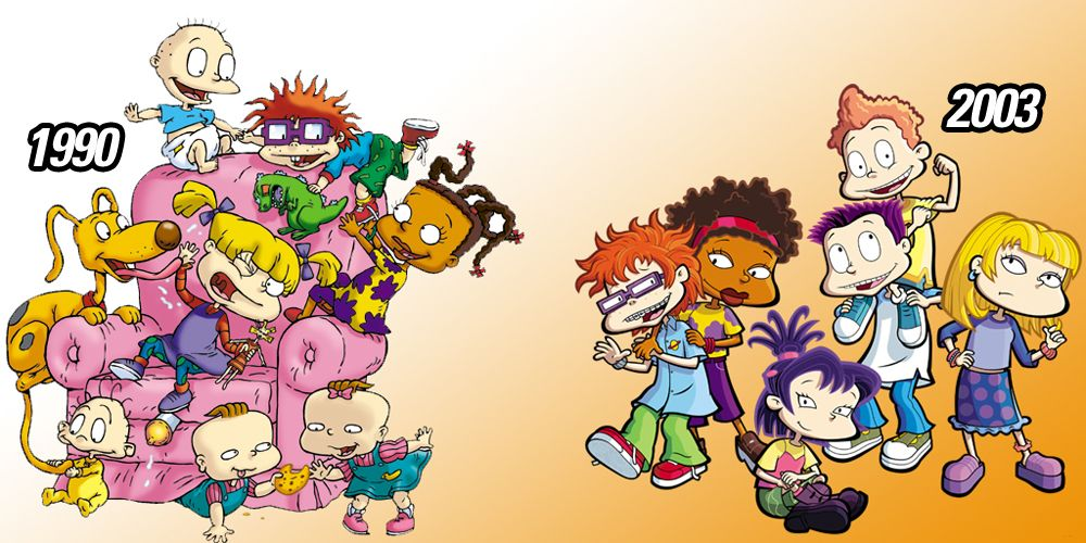 Rugrats Artist Reveals What Tommy And The Gang Really Look Like All Grown Up