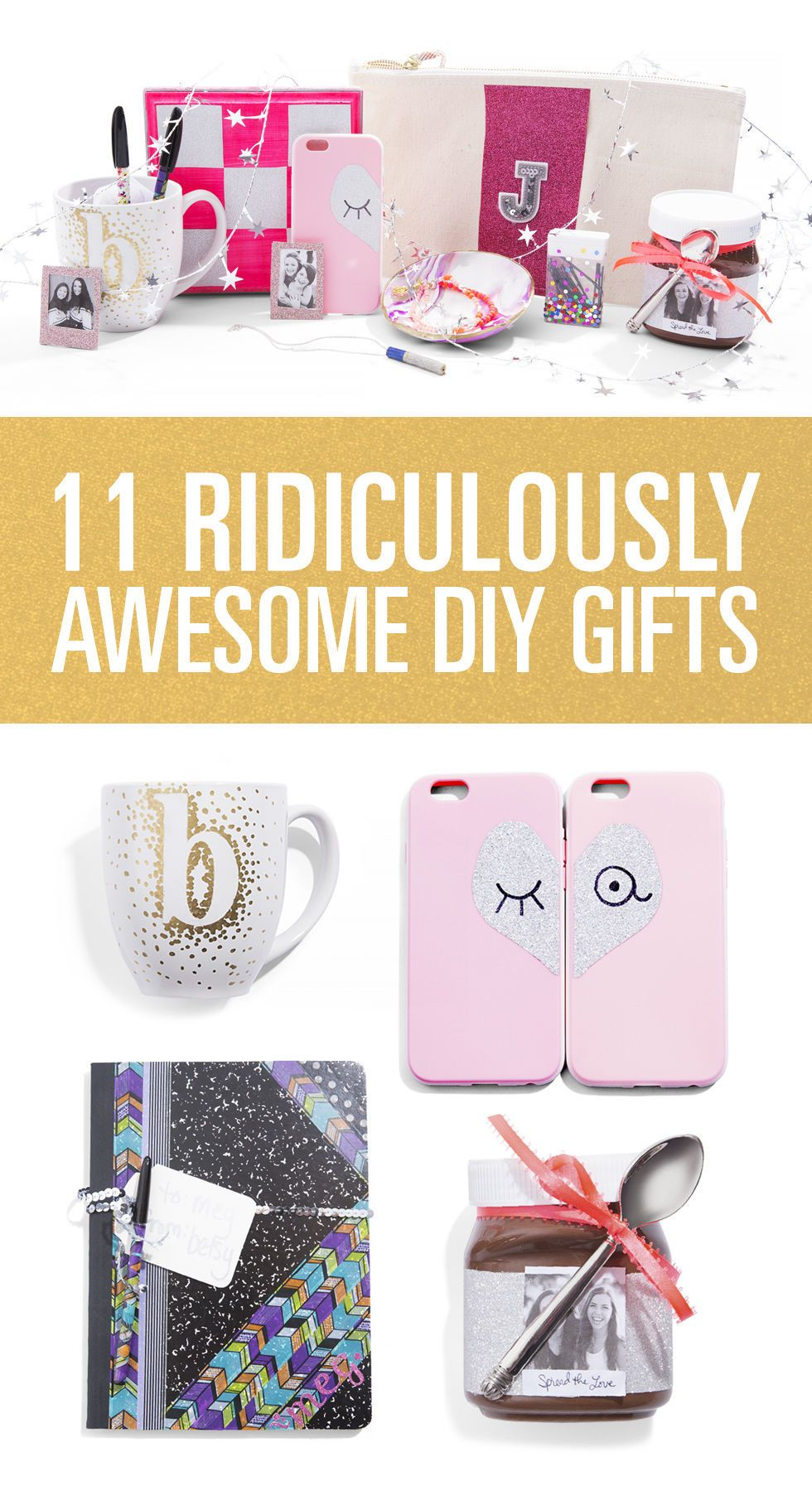 11 Ridiculously Awesome DIY Gifts for Your BFFs  sc 1 st  Seventeen Magazine & 11 Best DIY Christmas Gifts For Friends - Homemade Gift Ideas for BFFs