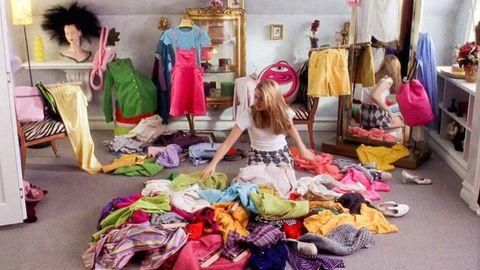 Room, Textile, Fashion, Purple, Shelf, Retail, Market, Shelving, Fashion design, Marketplace,
