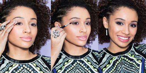 Hair, Face, Head, Nose, Lip, Eye, Hairstyle, Eyelash, Skin, Forehead,