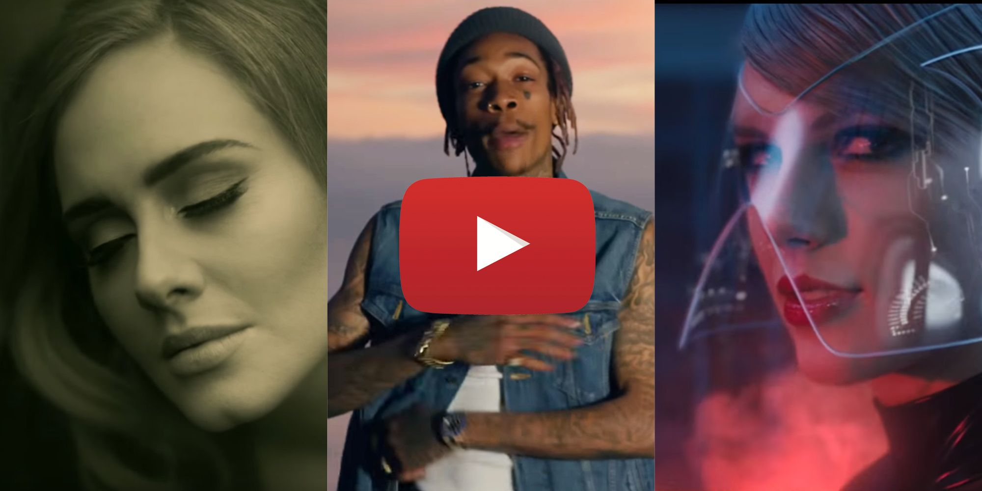 Most Popular Music Videos Of 2015 Youtube Lists Top 10 Trending Music Videos Of The Year