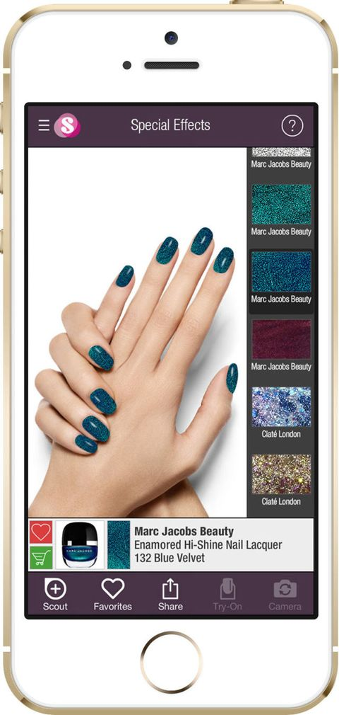 This New App Lets You Test Out Any Nail Polish Color Without ...