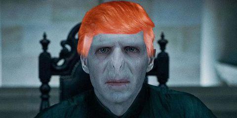 Lord Voldemort Donald Trump