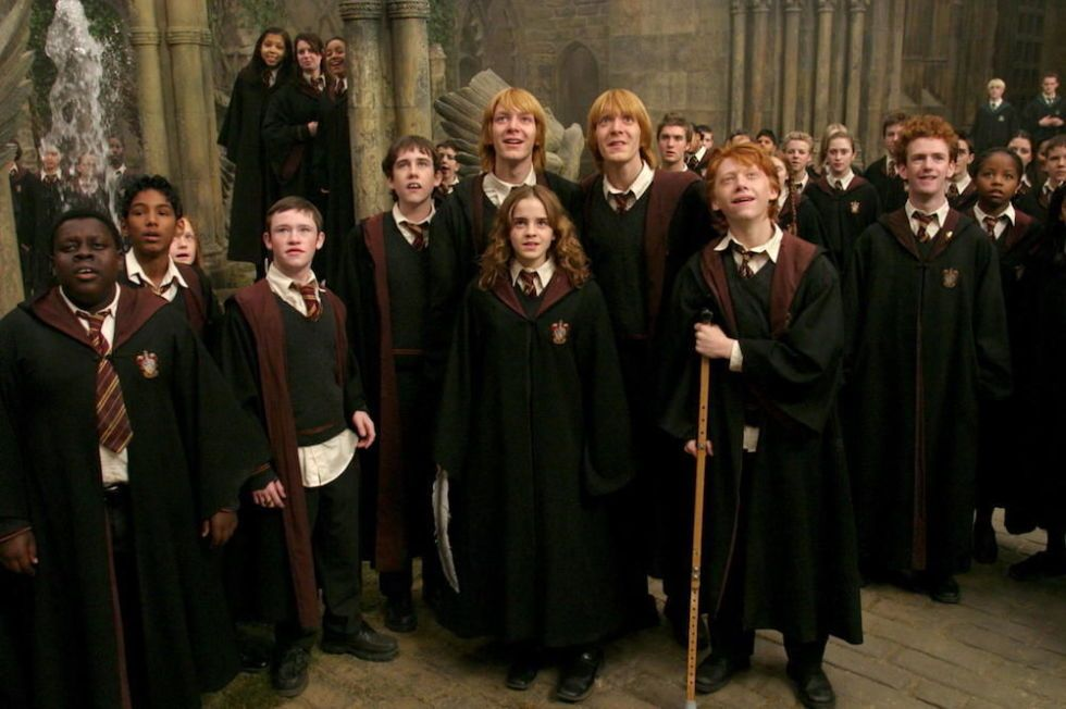 Did Hogwarts students wear clothes under their robes    harrypotter 25387f21e