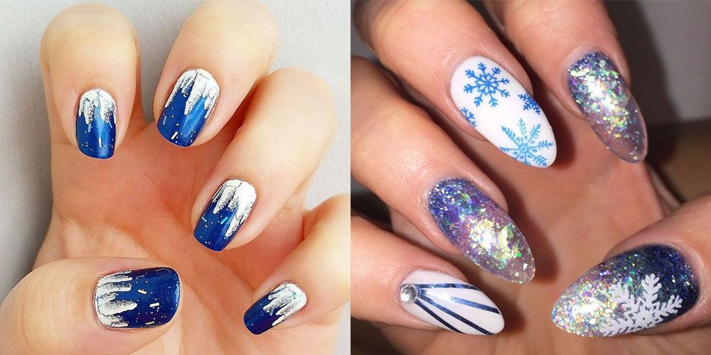 Icicle Nails Are The Coolest Nail Art Trend