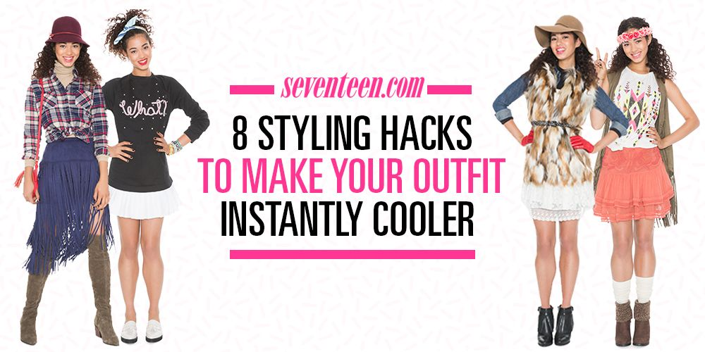cdb2152529b 8 Genius Styling Hacks That ll Make Your Outfit Instantly Cooler