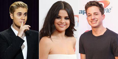 Justin Selena Charlie
