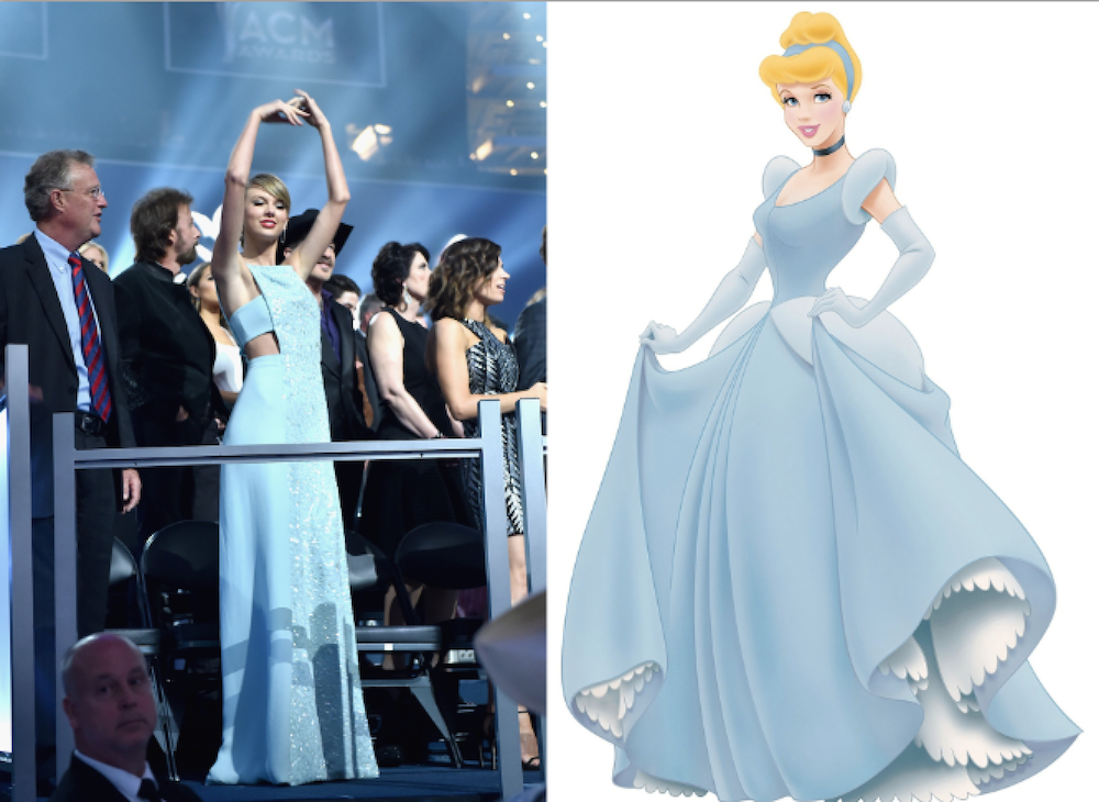 Every Time Taylor Swift Dressed Like A Disney Princess In 2015
