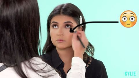 Lip, Hairstyle, Skin, Forehead, Eyebrow, Eyelash, Beauty, Black hair, Long hair, Makeover,