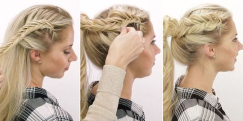 Waterfall braid tutorial how to do a perfect waterfall braid hairstyle pancaking is the 1 trick you need to get the prettiest braid ever ccuart Image collections