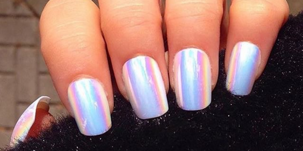 Hologram Nails Are the Mesmerizing New Trend Blowing Up On Instagram