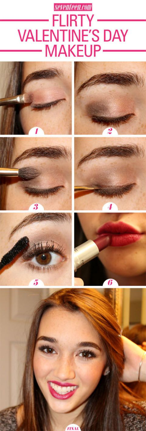 Flirty Valentines Day Makeup Tutorial