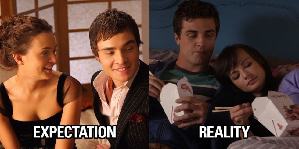 Online dating expectation vs reality quotes