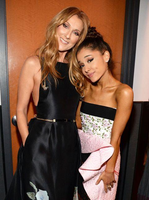 Ariana Grande Celine Dion